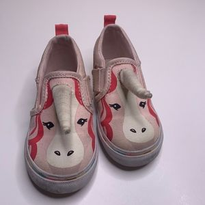 VANS Asher Unicorn Slip On Shoes Sneaker Kids 8
